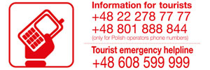 link do strony: TOURIST EMERGENCY HELPLINE