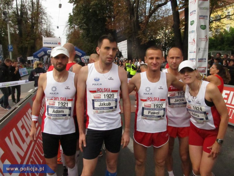 34e8a0e80 W VI Mistrzostwach Europy Policji w Maratonie wystartowało 21 reprezentacji  narodowych, w tym również kierowana przez mł. insp.