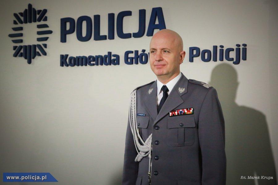 Nadinsp. dr Jarosław Szymczyk nowym Komendantem Głównym Policji -  Aktualności - Policja.pl