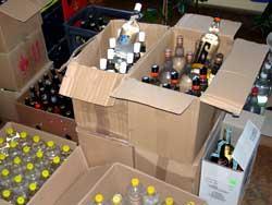 Podejrzany o nielegalną sprzedaż alkoholu i papierosów
