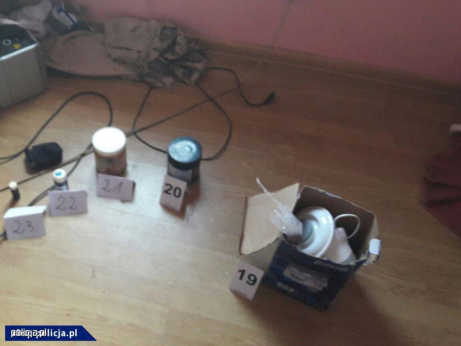 Czesi produkujący metamfetaminę zatrzymani przez CBŚP