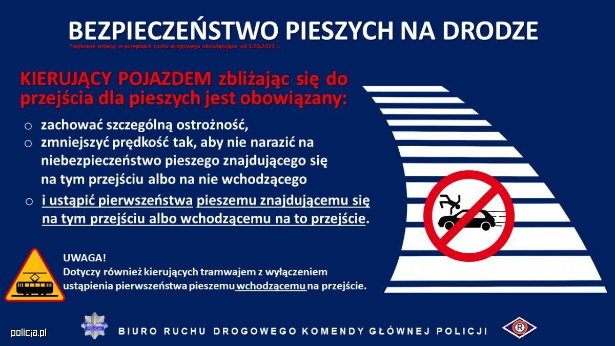 Bezpieczeństwo Na Drodze - wybrane zmiany w przepisach ruchu drogowego od 1.06.2021 r.