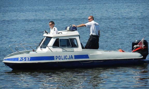 Policyjny patrol wodny