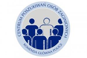 Logo Centrum Poszukiwań Osób Zaginionych KGP