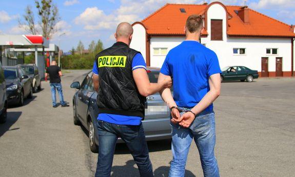 Podlascy policjanci zatrzymali poszukiwanego przez brytyjski wymiar sprawiedliwości