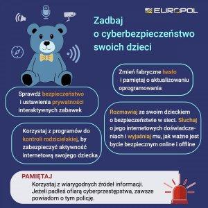 ulotki mówiące o zagrożeniach w sieci